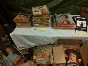 Välbevarade tidningar från -40, -50 och -60talet
