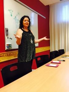 Cecilia Kärvegård, föreläsare!