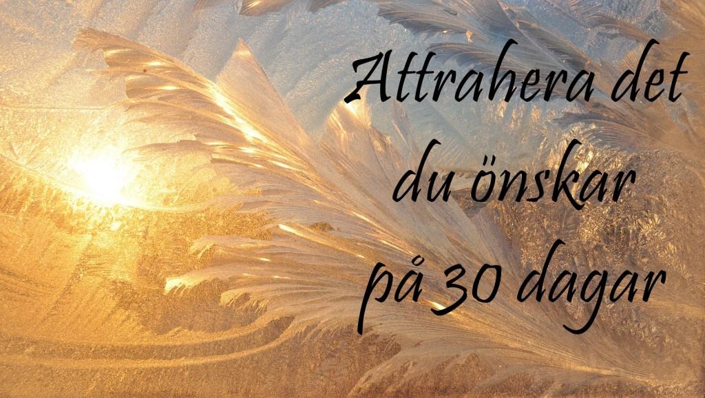 30 dagar med attraktionslagen