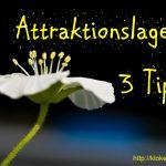 3 tips för att lyckas med Attraktionslagen