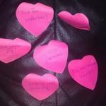 Små rosa lappar! Bloggmaraton, inlägg 11 av 48!