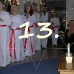 Adventskalender, Lucka 13!