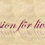 Passion för livet! Från negativ till positiv!