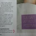 Mina 7 tips i Aftonbladet Wellness